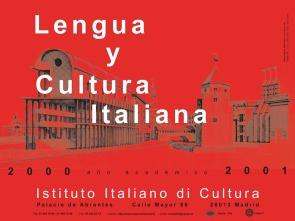 Cartel publicitario Istituto Italiano di Cultura