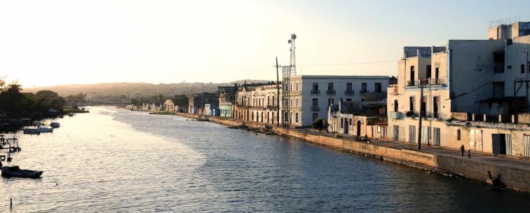 Margen norte río San Juan, foto actual
