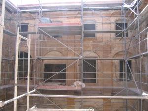 Obras en el Claustro