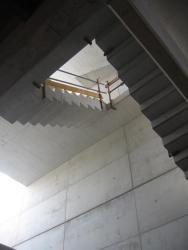 Escaleras de hormigón armado