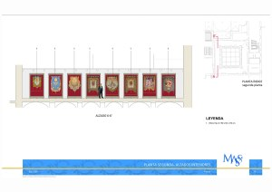 Sección Claustro. Proyecto Museográfico