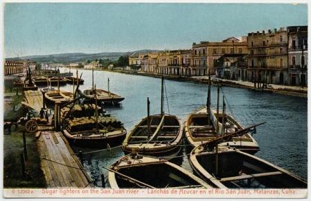 Postal años 20 margen norte río San Juan
