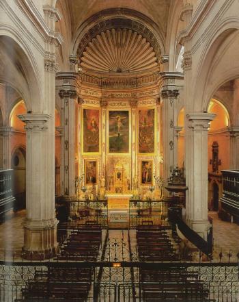 Nave central y capilla mayor