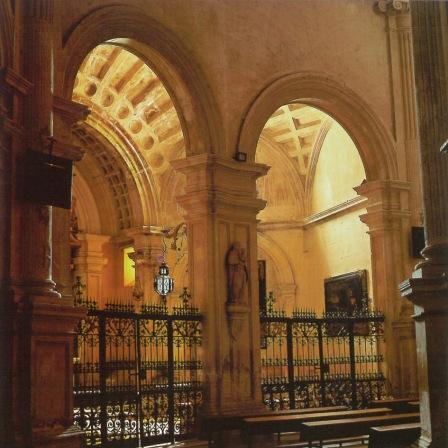 Girola y capilla de la Virgen del Alcázar