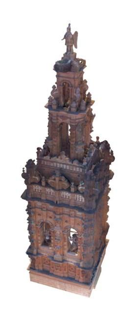 Modelo 3D de la torre.