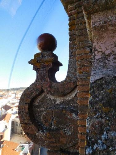 Segundo cuerpo de la torre. Detalles estado actual.